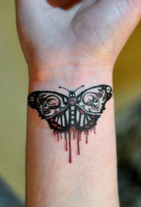 Bleeding-Butterfly-Tattoo