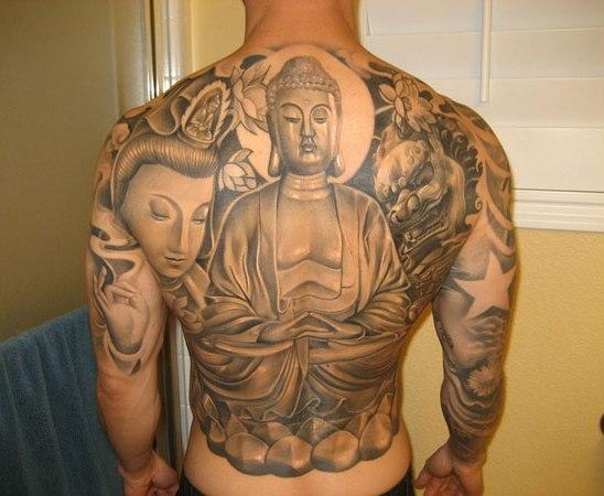 Buddha Tattoo Designs 1