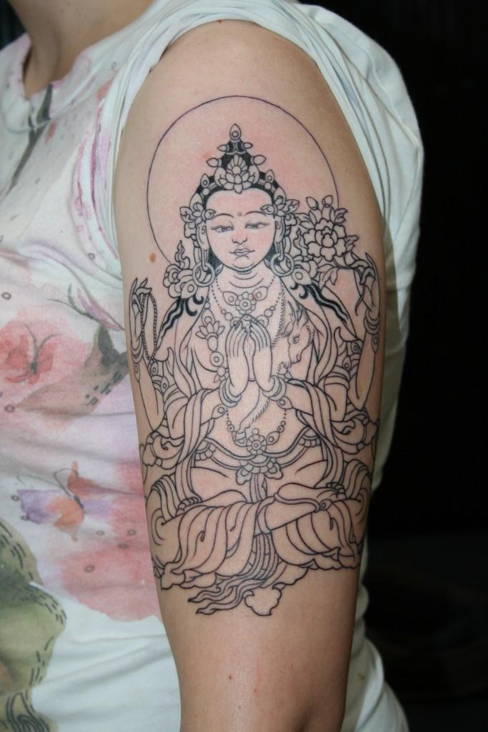 Buddha Tattoo Designs 15