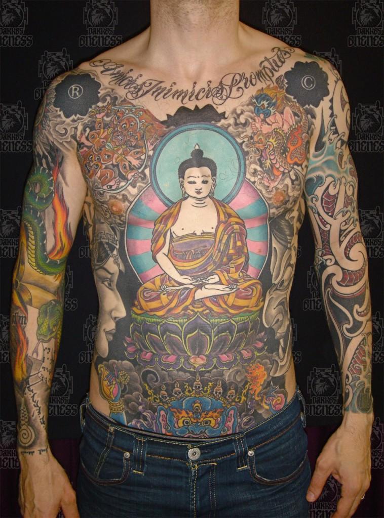 Buddha Tattoo Designs 20