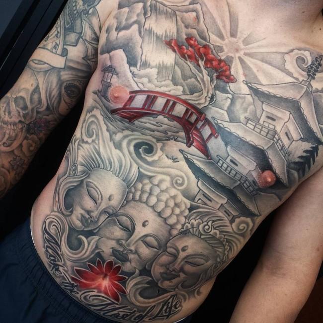 Buddha Tattoo Designs 38