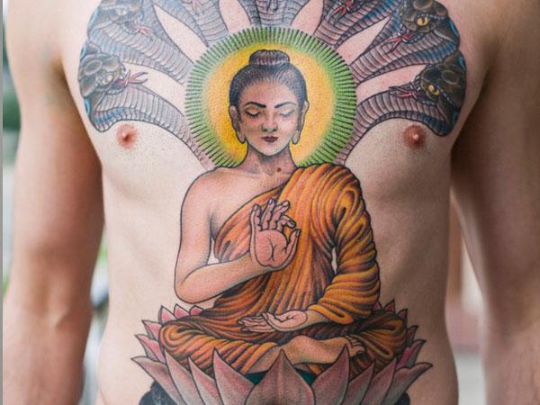 Buddha Tattoo Designs 50