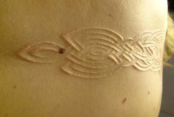 Celtic Scarification Design