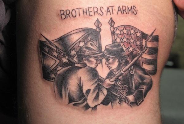 Civil War Tattoo