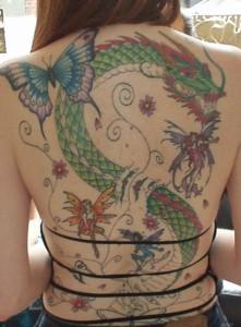 Dragon-Butterfly-Tattoo