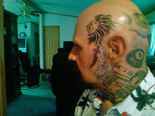 Head Lion Tattoo