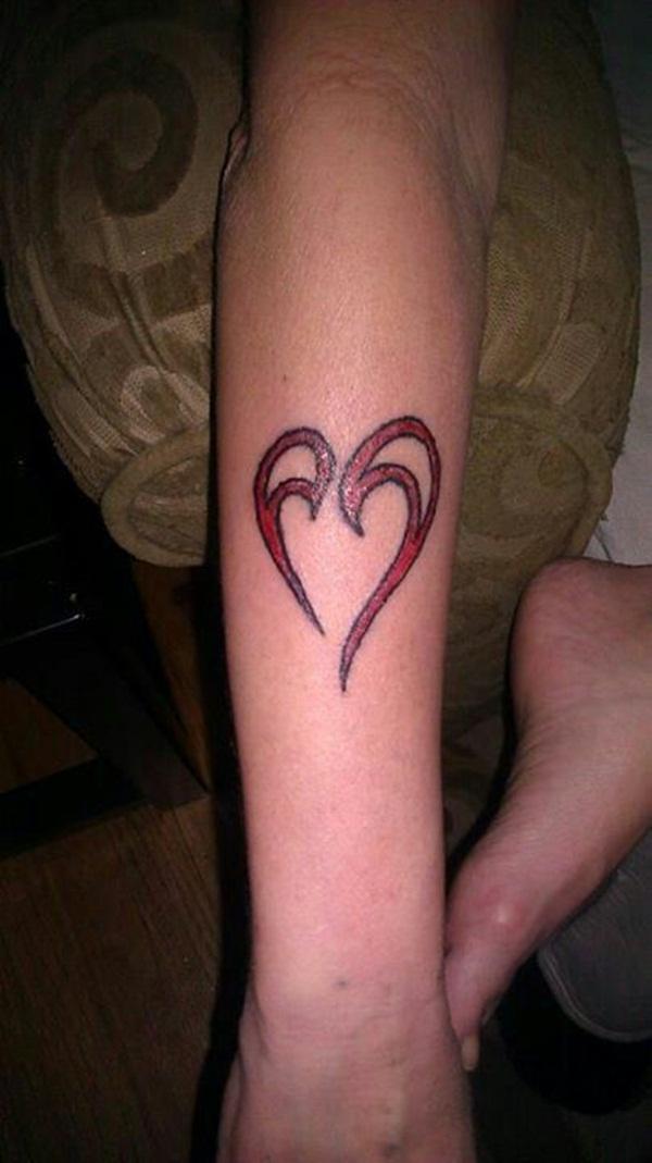Heart Tattoo Designs 4