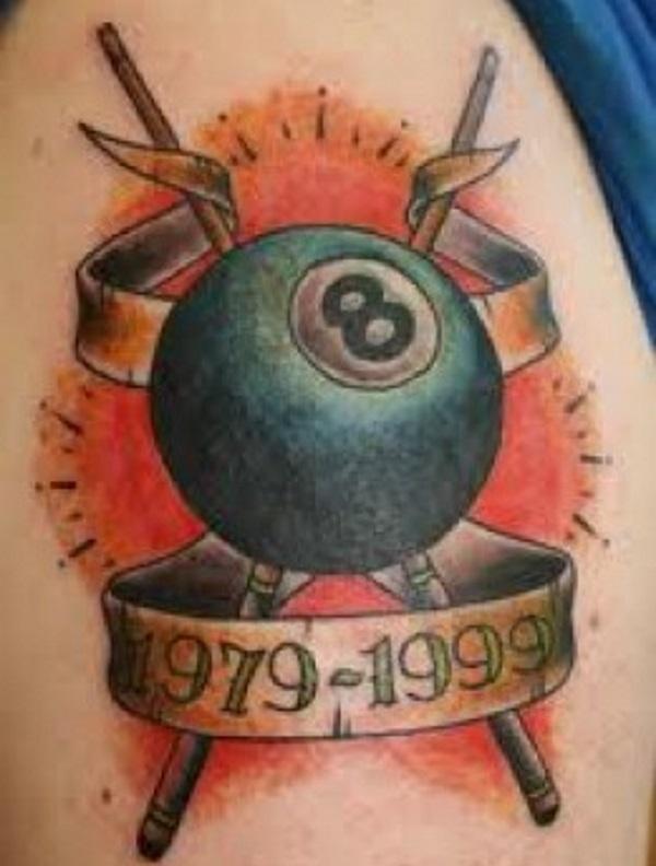 Memorial Pool Tattoo Design