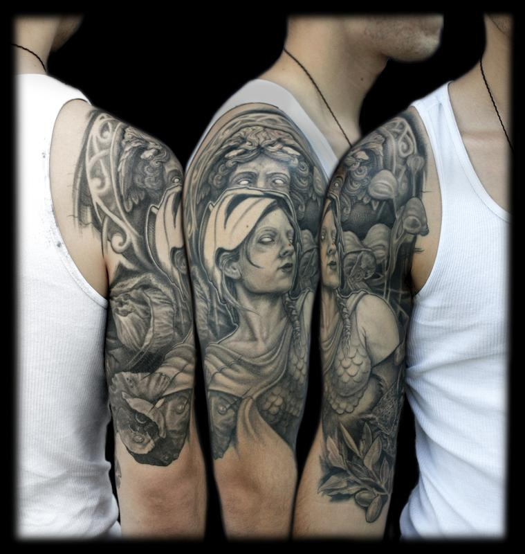 Mythological Tattoo Designs 25