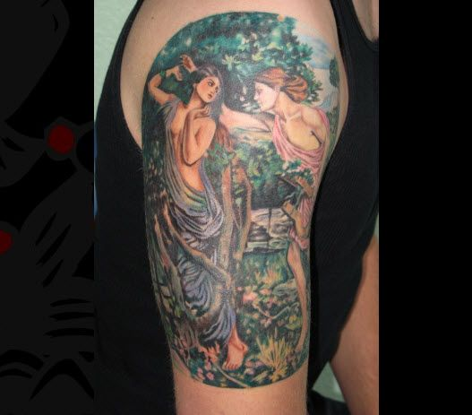 Mythological Tattoo Designs 26