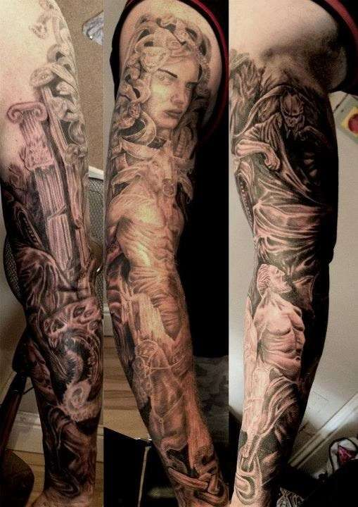 Mythological Tattoo Designs