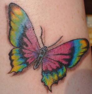 Rainbow-But-Butterfly-Tattoo