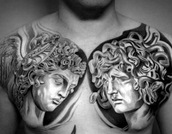 best-greek-chest-tattoos-for-men