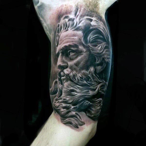 bicep-greek-tattoo-for-men