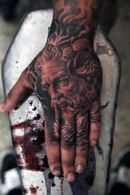 greek-god-apollo-mens-hand-tattoos