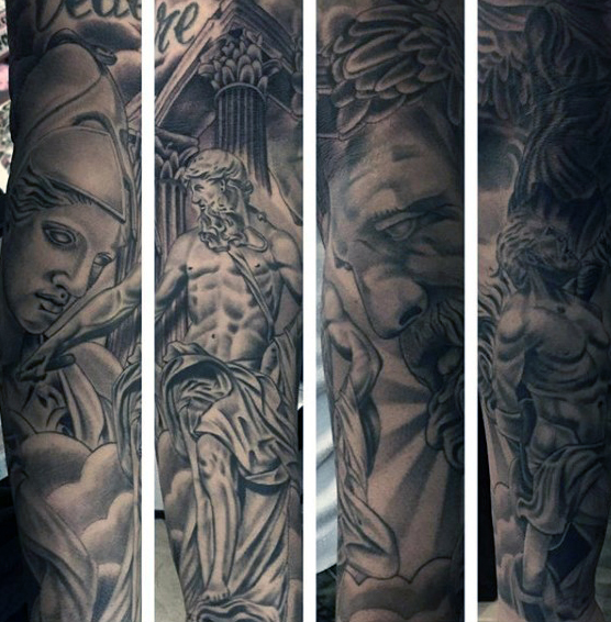 greek-themed-tattoos-for-males