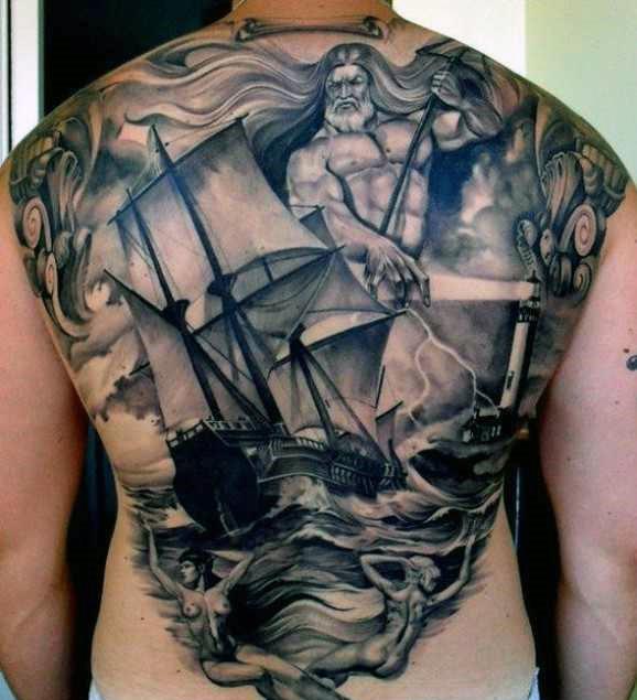 manly-mens-greek-art-tattoos-on-back