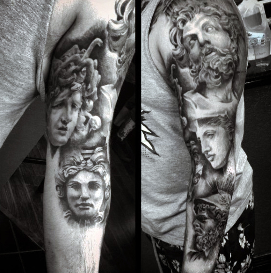 mens-greek-tribal-tattoo