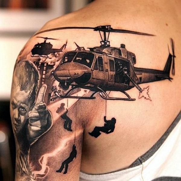 3D Tattoo Designs 29