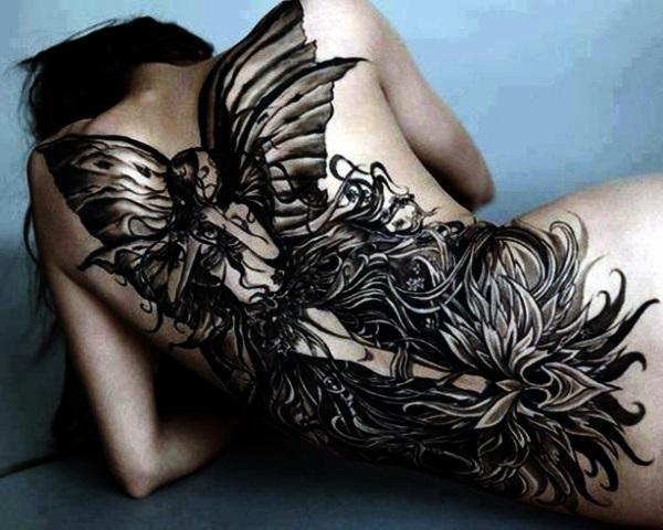 Adorable Fairy Tattoo Designs 27