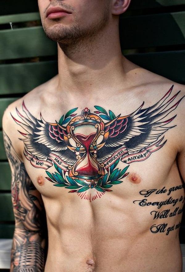 Chest Tattoo 29