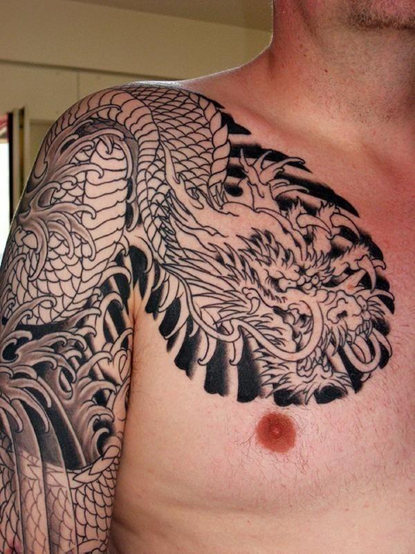 Chest Tattoo 38