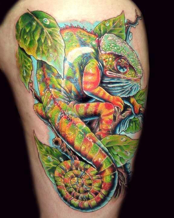 Colorful Tattoo Designs 12