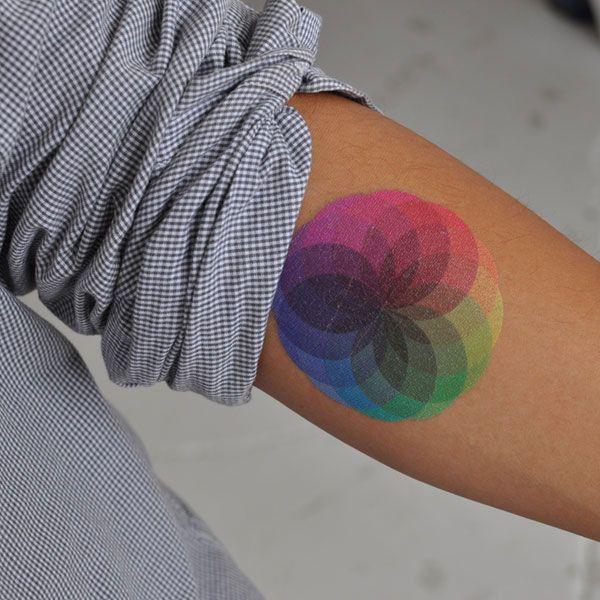 Colorful Tattoo Designs 16