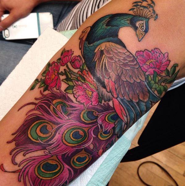 Colorful Tattoo Designs 17