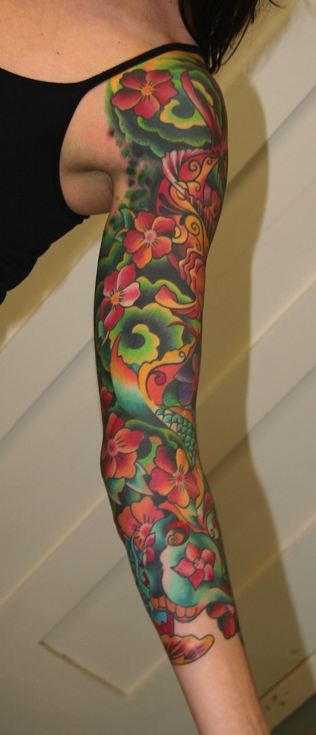 Colorful Tattoo Designs 26