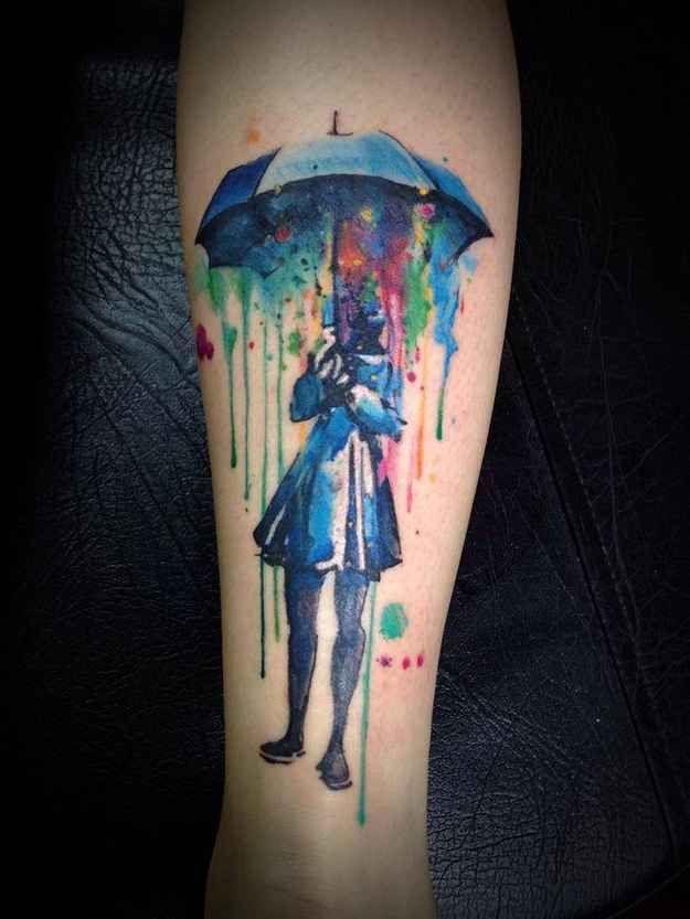 Colorful Tattoo Designs 3