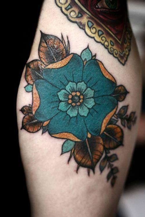 Colorful Tattoo Designs 33