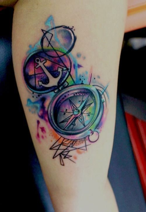 Colorful Tattoo Designs 34
