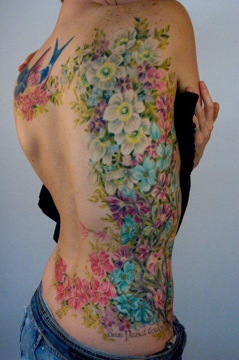 Colorful Tattoo Designs 43