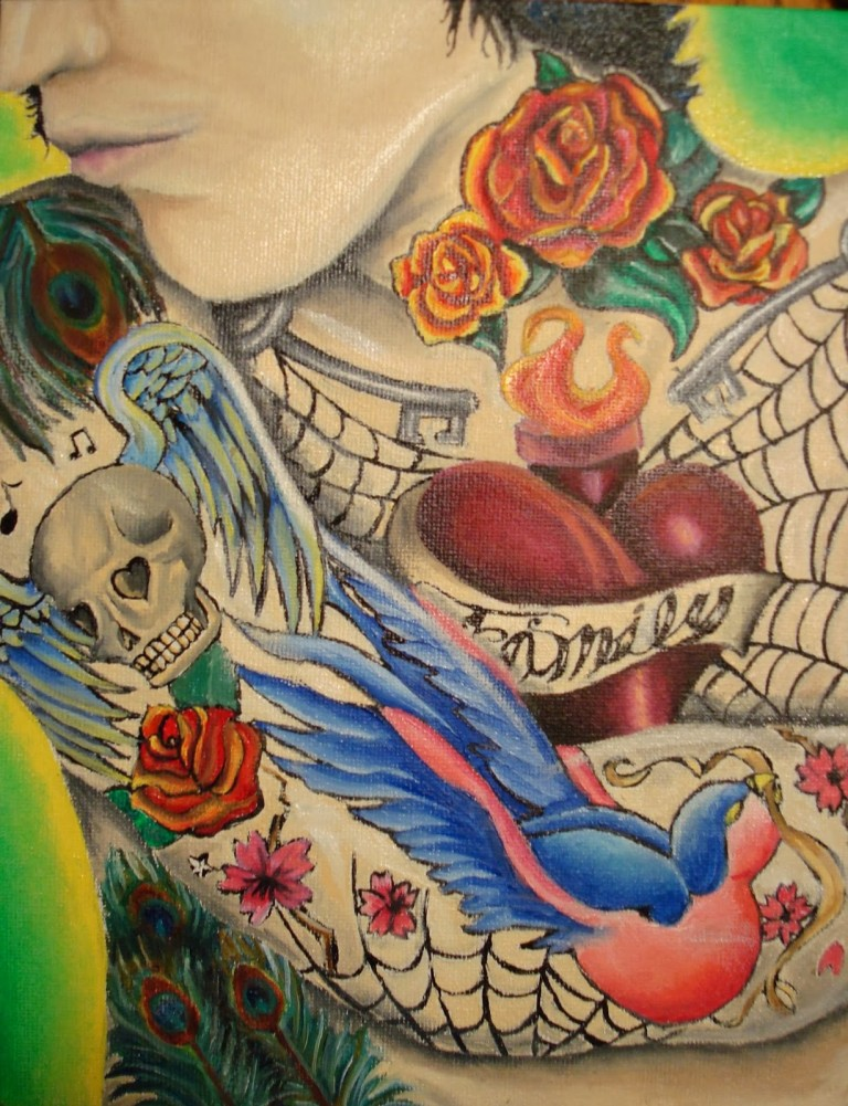 Colorful Tattoo Designs 44