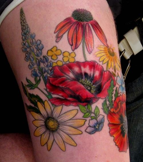 Colorful Tattoo Designs 45