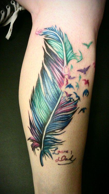 Colorful Tattoo Designs 46