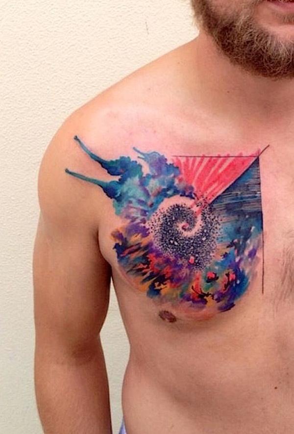 Colorful Tattoo Designs 47