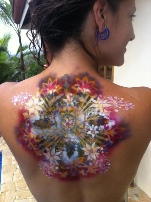 Colorful Tattoo Designs 48