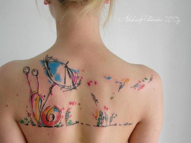 Colorful Tattoo Designs 6