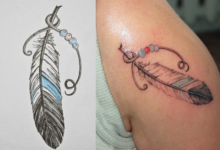 Colorful Tattoo Designs 7