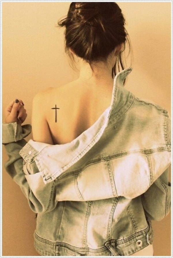 Cross tattoos for girl