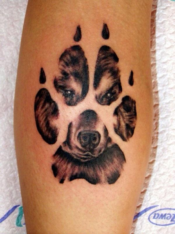 Dog Tattoo Designs 19