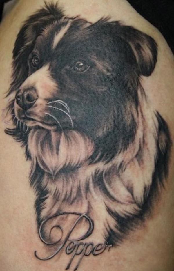 Dog Tattoo Designs 21