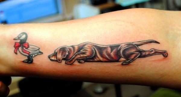 Dog Tattoo Designs 23