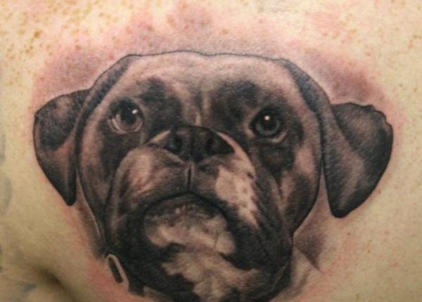 Dog Tattoo Designs 30
