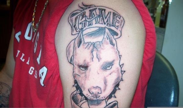 Dog Tattoo Designs 31