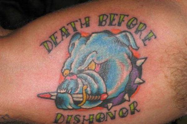 Dog Tattoo Designs 43