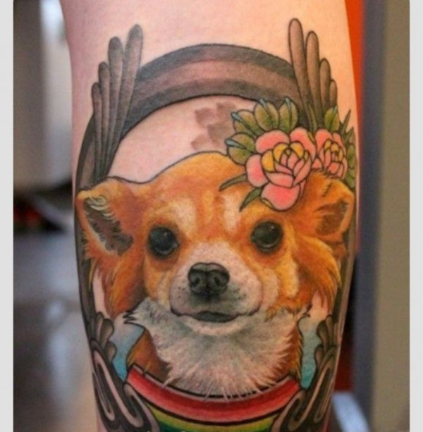 Dog Tattoo Designs 5
