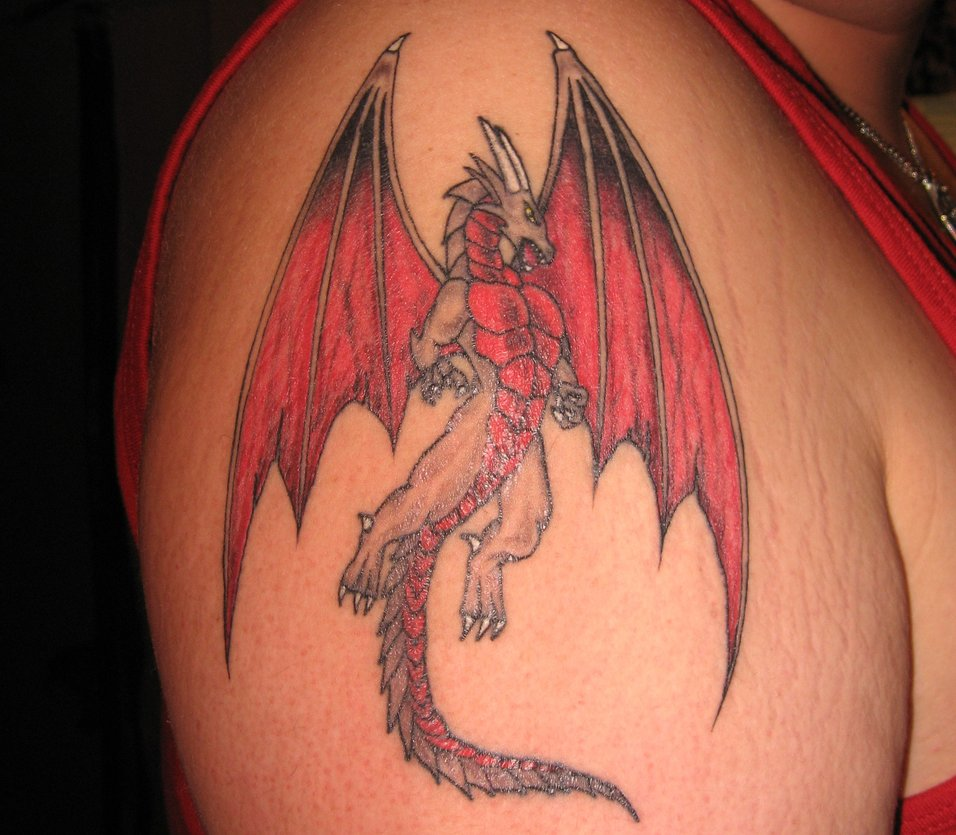 Dragon Tattoo Designs 3